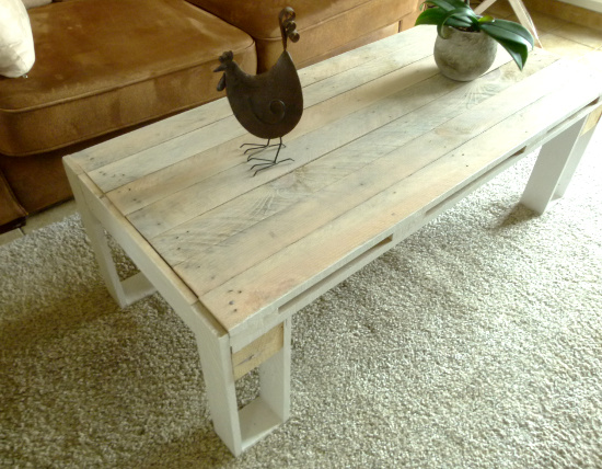 Diy Table Basse Design En Palette